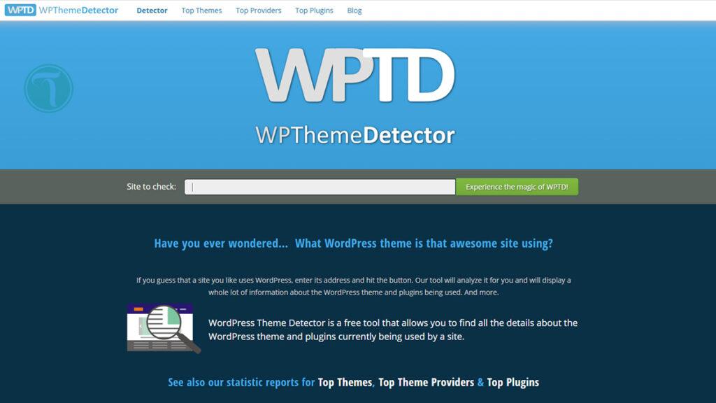 وب سایت WPThemeDetector