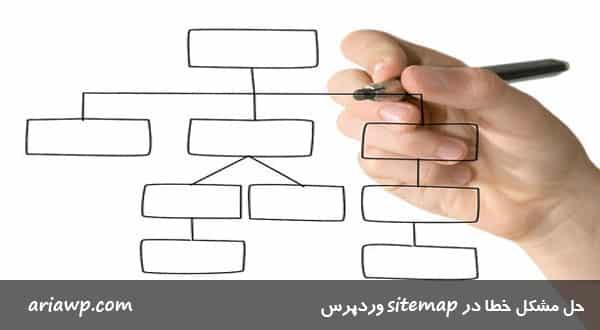 حل مشکل خطا در Sitemap وردپرس