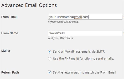 حل مشکل ارسال ایمیل های وردپرس از لوکال هاست
