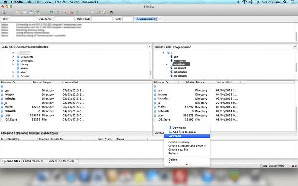 امنیت وردپرس - دایرکتوری فایل