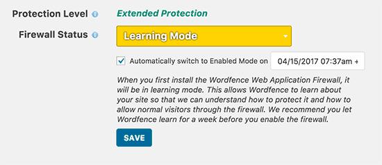 فایروال Wordfence