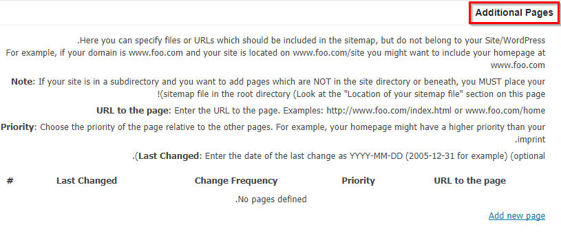 کار با افزونه Google XML Sitemaps