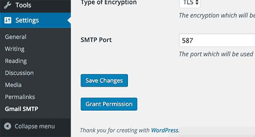 تنظیم SMTP سرور جیمیل برای ارسال ایمیل در وردپرس