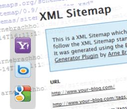 ساخت نقشه سایت برای وردپرس با افزونه Google XML Sitemaps