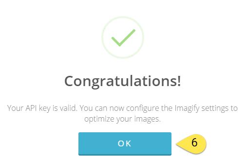 راه اندازی Imagify