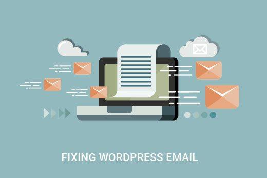 رفع مشکل ارسال نشدن ایمیل های وردپرس و یا اسپم شدن آن ها