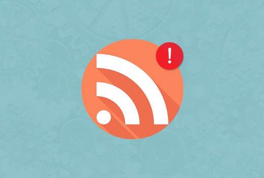 رفع خطا RSS در وردپرس