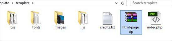 زیپ کردن فایل HTML