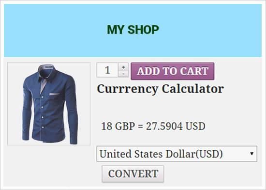 آموزش افزودن مبدل ارز در وردپرس