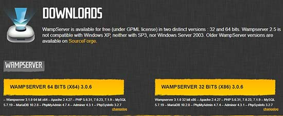 نصب وردپرس روی لوکال هاست با WAMP