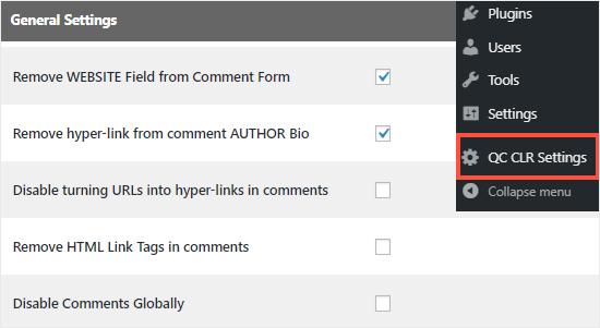 حذف کردن فیلد آدرس وبسایت از نظرات در وردپرس