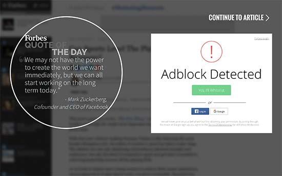 شناسایی کاربران AdBlock در وردپرس