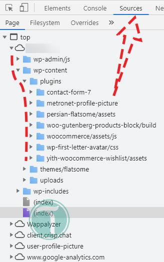 پیدا کردن افزونه های نصب شده در وردپرس از طریق پوشه WP-Content