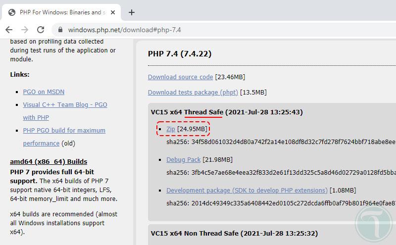 دانلود PHP