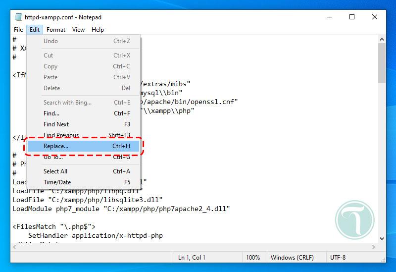 جایگزین کردن php5 با php7